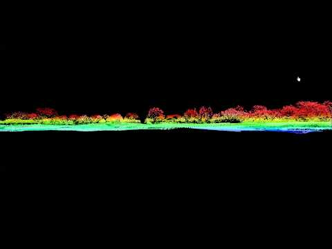 LiDAR Intensity Example Animation (Applied Ecological Services)