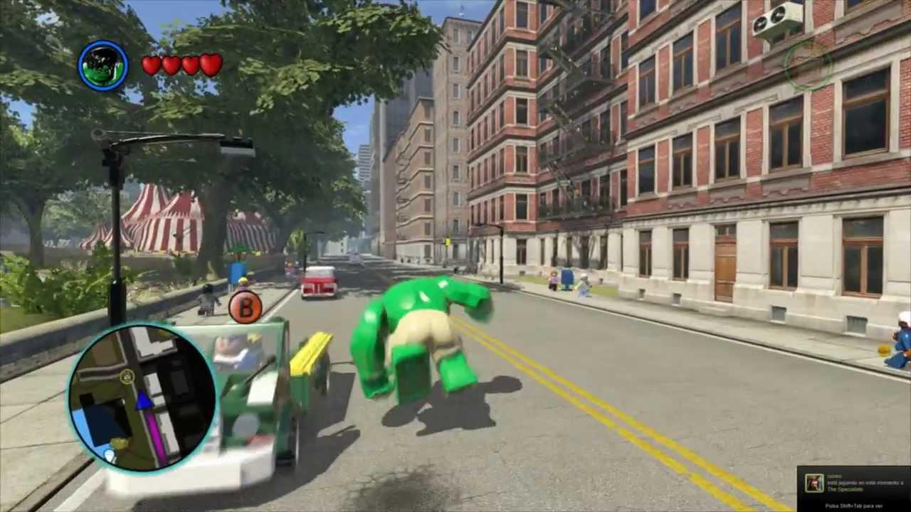 Lego Marvel Superheroes Modo Libre Youtube