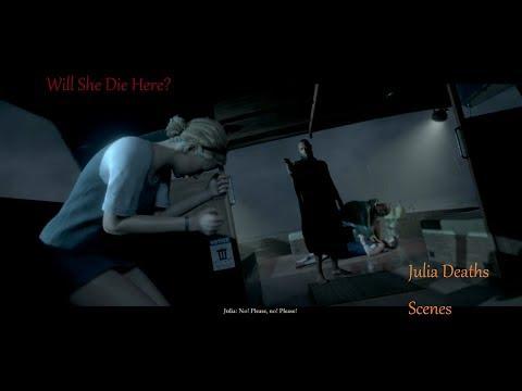 Julia Deaths Scenes : Man Of Medan The Dark Pictures Anthology Game Movie |