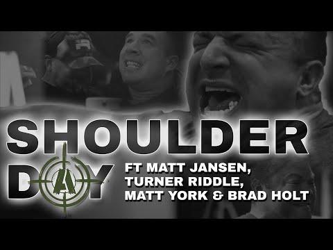 Shoulder Training | Feat Matt Jansen, Turner Riddle, Matt York & Brad Holt | Project x 18
