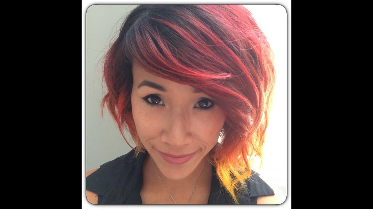 red orange ombre hair wwwpixsharkcom images