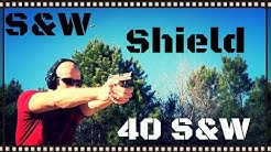 Smith & Wesson M&P Shield 40 S&W Handgun Review (HD)