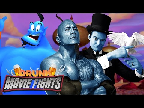 Cast Aladdin's Live Action Genie! - DRUNK MOVIE FIGHTS!! from YouTube · Duration:  1 hour 40 minutes 53 seconds