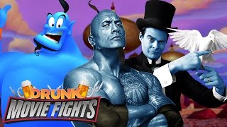 Cast Aladdin's Live Action Genie! - DRUNK MOVIE FIGHTS!!