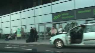 katowice airport terminal a i b
