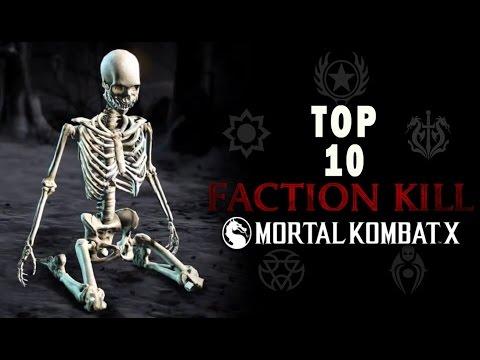 TOP 10 MEJORES FACTION KILL DE MORTAL KOMBAT XL - MaxiLunaPMY