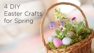 4 DIY Easter Crafts for Spring