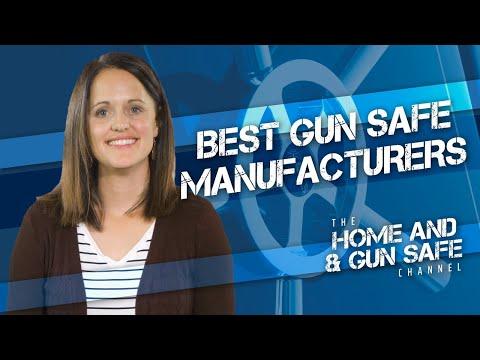 Top 4 Gun Safe Manufacturers