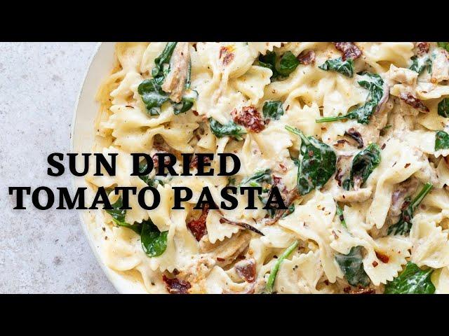 SUN DRIED TOMATO PASTA | Vegan Richa Recipes