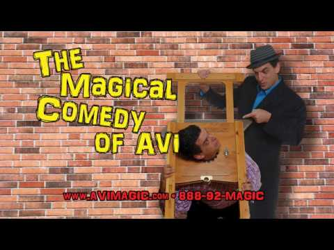 The Magical Comedy of Avi - 2019 promo reel