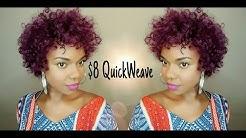 $8 Quick Weave w/ Isis Collection Badu Short Plus Toni Curl 3pcs