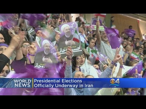 Presidential Elections Underway In Iran