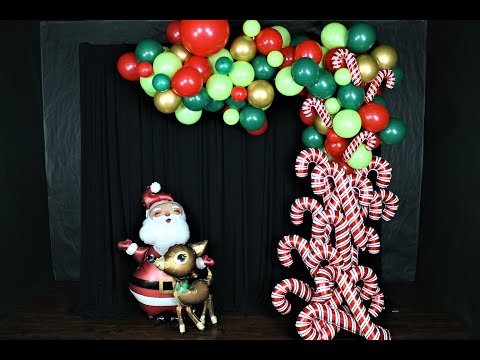 Christmas Balloon Garland DIY | How To | Tutorial
