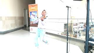 """""""All Of Me"""" - John Legend (violin cover) Tyler Butler-Figueroa Violinist (13) AGT Triangle Town Mall"""