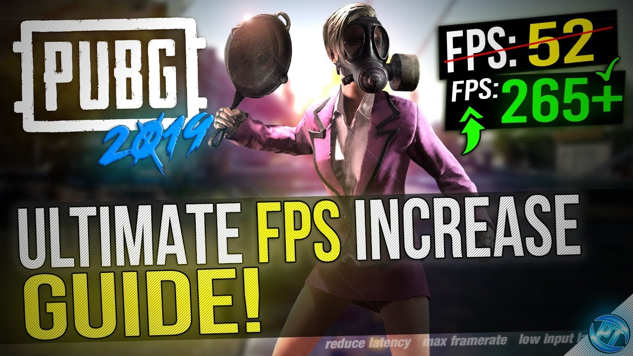 🔧 BATTLEGROUNDS: HUGE 2019 UPDATE! Dramatically increase performance / FPS  with any setup!