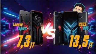 ROG Phone 3 vs Lenovo Legion Duel, Harga Beda 6,2 Juta, sama-sama Snapdragon 865+ Pertama di Dunia!