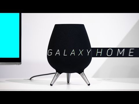 Samsung Galaxy Home Hands-on: Would You Want Bixby in Your Home?
