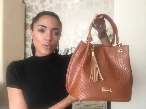 Non Leather Handbag Shopping | Being Vegetarian | Harrods | Ciate |