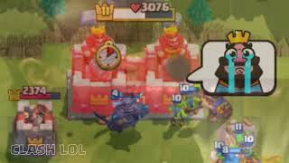 Clash Royale Funny Moments Part 38 ◉ Clash LOL Funny Montages, Glitches, Trolls   YouTube