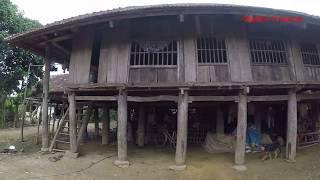 เยี่ยมยามคนไตในเวียดนาม EP5: เฮือนไตดำที่บ้านนาเเตน หลังใหญ่มาก เสา 60 ต้น