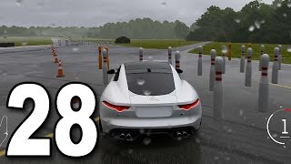 Forza 6 - Part 28 - Car Bowling in a Jaguar F-Type (Let's Play / Walkthrough / Gameplay)