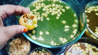 3 way pani for pani puri / 3 तरह के पानी पानी पुरी के लीए / pani puri ka pani / golgappe / pani puri