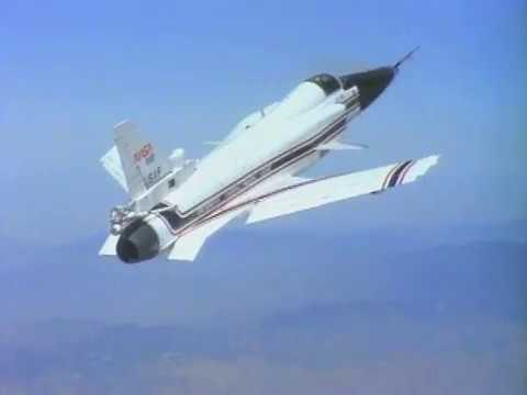 X-29 High Angle of Attack Flight