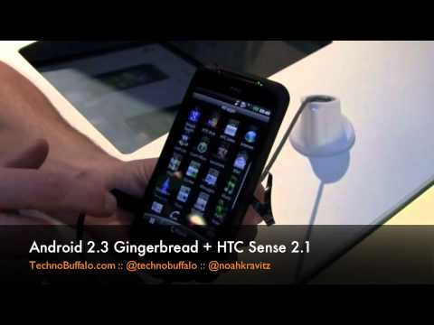 HTC Incredible S Hands On