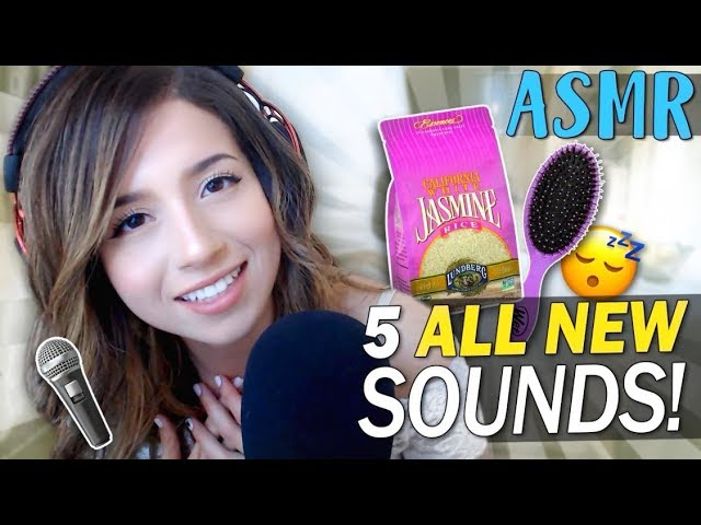 5 NEW ASMR SOUNDS ❤️ POKI ASMR ❤️ Jasmine Rice, Tapping Plastic Brush, etc!