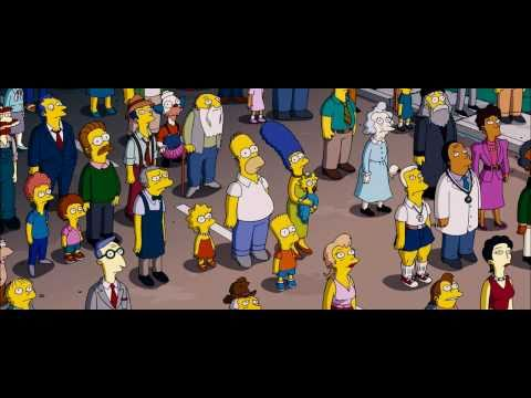 The Simpsons Movie 2007 Official Trailer Hd Youtube