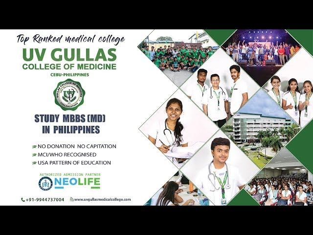 Study MBBS in Philippines from UV Gullas College of Medicine