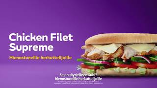 Subway Chicken Filet Supreme, 10 se...