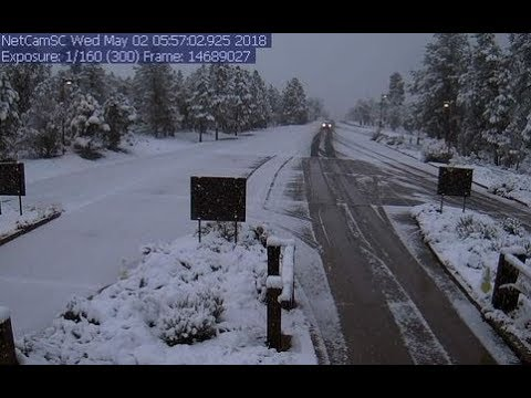 GSM Update 5/3/18 - Arizona Snow - Global Temps Drop .6C - Arctic Ice Grows In May