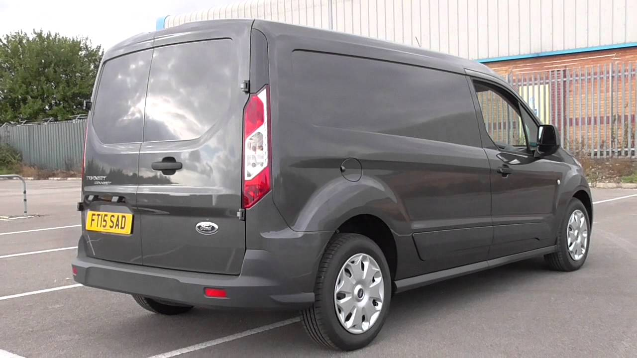 ford transit connect v408 210 l2 1 6 95ps 5sp trend u108257 youtube. Black Bedroom Furniture Sets. Home Design Ideas