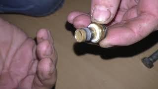 распрессовка металлопластиковой трубы из фитинга