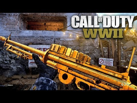 ROAD TO CHROME (GOLD LEWIS) - Call of Duty: WW2 Multiplayer Gameplay - PS4 PRO