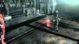 Resident Evil HD Remaster - Ending (Jill) Saved Barry & Chris