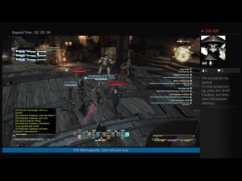 FF14 Whm Wolves Den PVP Friday Fight Night Come PVP Chat