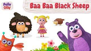 Baa Baa Black Sheep | Nursery Rhymes | Kids Video | Polly Olly