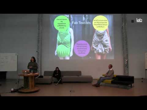 winterLAB: Anastasia Pistofidou. Fab Lab Barcelona/IAAC (English Audio)
