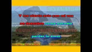 Los Huayras   La noche sin ti ( karaoke ) (PRODUCCIONES ROBERTO)