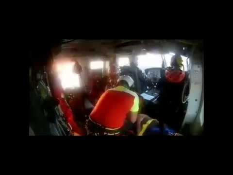 Rescatado un senderista con traumatismo craneoencefálico tras caer por un monte de Anievas