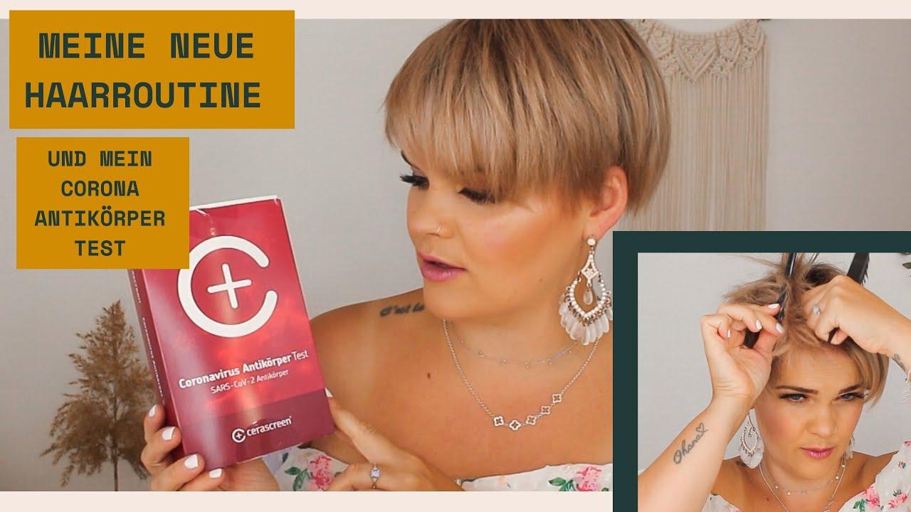 Meine neue Haar Routine 2020 und mein Corona Antikörper Test | SALIRASA