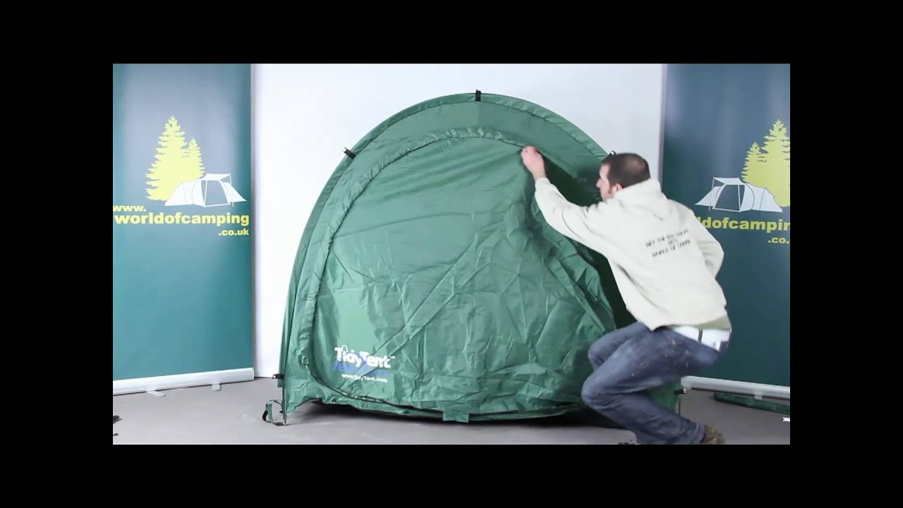 & TidyTent bike cave - YouTube