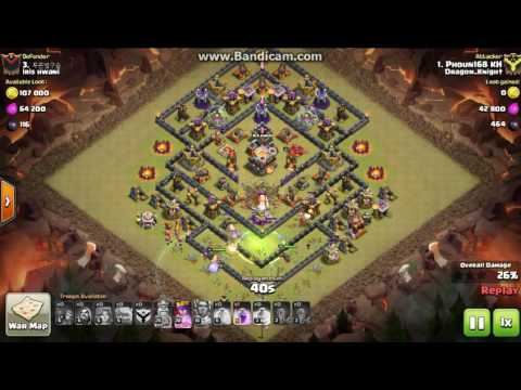 clash of clans town 11vs11