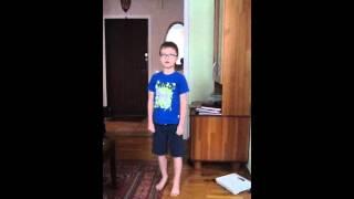 Урок тхэквондо 3 от Егора