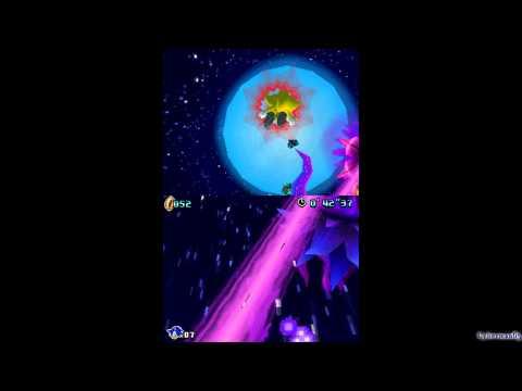 Sonic Colors (DS) ~ Super Sonic / Secret Boss - Nega-Mother Wisp