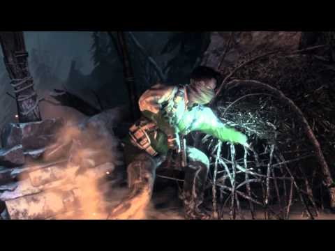 Rise of the Tomb Raider E3 15-Minute Gameplay Demo Siberian Wilderness Bear Fight World Premiere