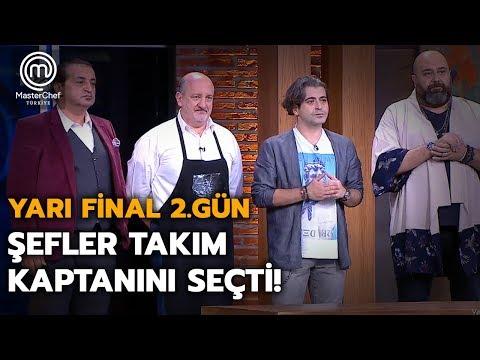 MasterChef Türkiye'de Takım Kaptanı Belli Oldu!  | Yarı Final | MasterChef Türkiye