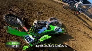 2020 Fox Raceway National - GoPro Adam Cianciarulo 450 Moto 2 Highlights